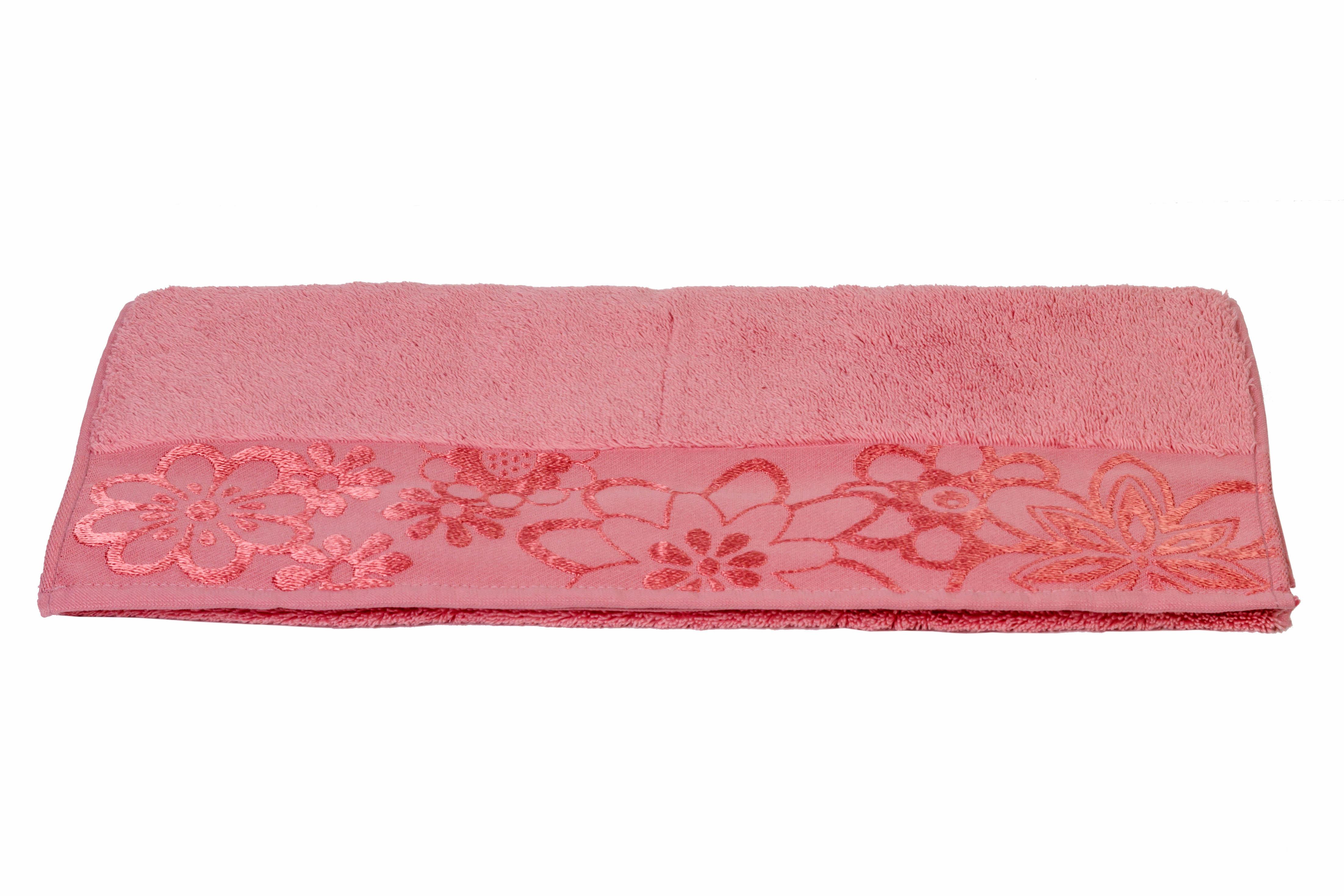 все цены на Полотенца HOBBY HOME COLLECTION Полотенце Dora Цвет: Темно-Розовый (100х150 см) в интернете