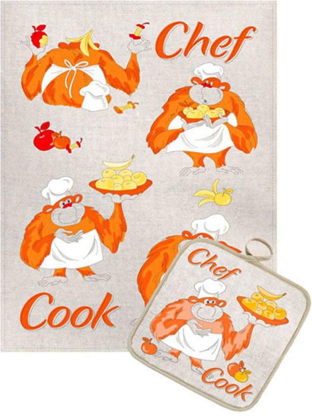 Кухонный набор Гранд-Стиль Гранд-Стиль Кухонное полотенце Повар gst190844