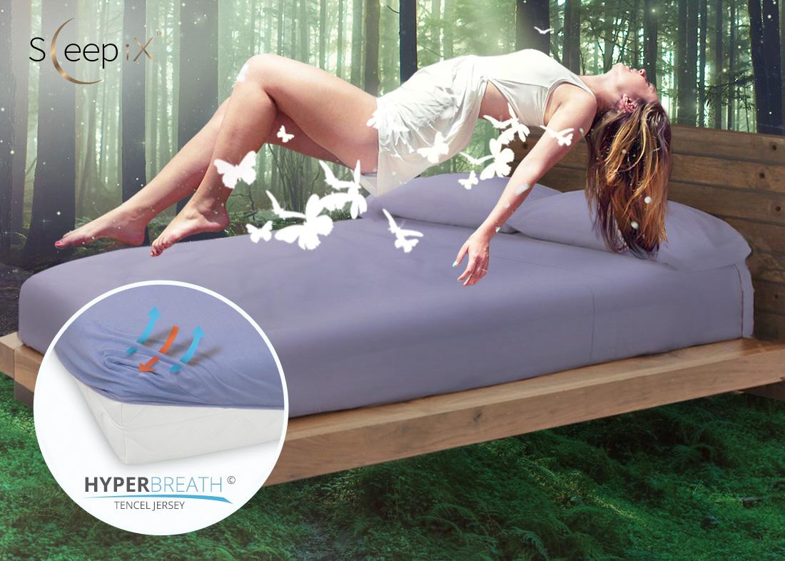Простыни на резинке Sleep iXПростыни на резинке<br>Производитель: Sleep iX<br>Страна производства: Россия<br>Материал: Эвкалиптовый трикотаж (Джерси)<br>Состав: 95% Вискоза (Тенсел), 5% Лайкра<br>Размер простыни: 120х200 см<br>Высота: 20 см<br>Упаковка: Полиэтиленовый пакет<br><br>Тип: простыня<br>Размерность комплекта: None<br>Материал: Эвкалиптовый трикотаж<br>Размер наволочки: None<br>Подарочная упаковка: None<br>Для детей: нет<br>Ткань: Эвкалиптовый трикотаж<br>Цвет: None