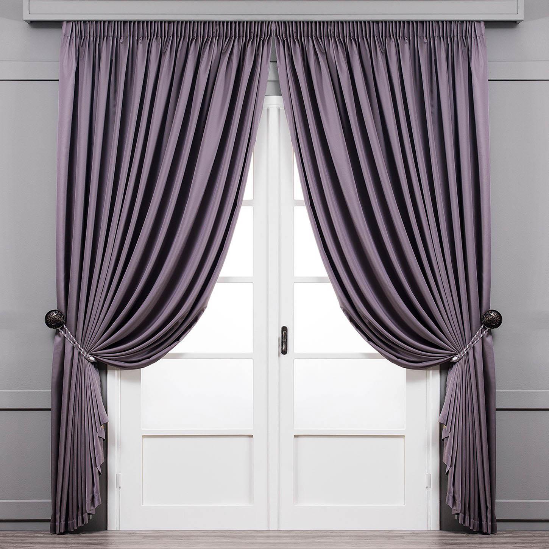 Шторы Togas Классические шторы Рапсодия Цвет: Фиолетовый