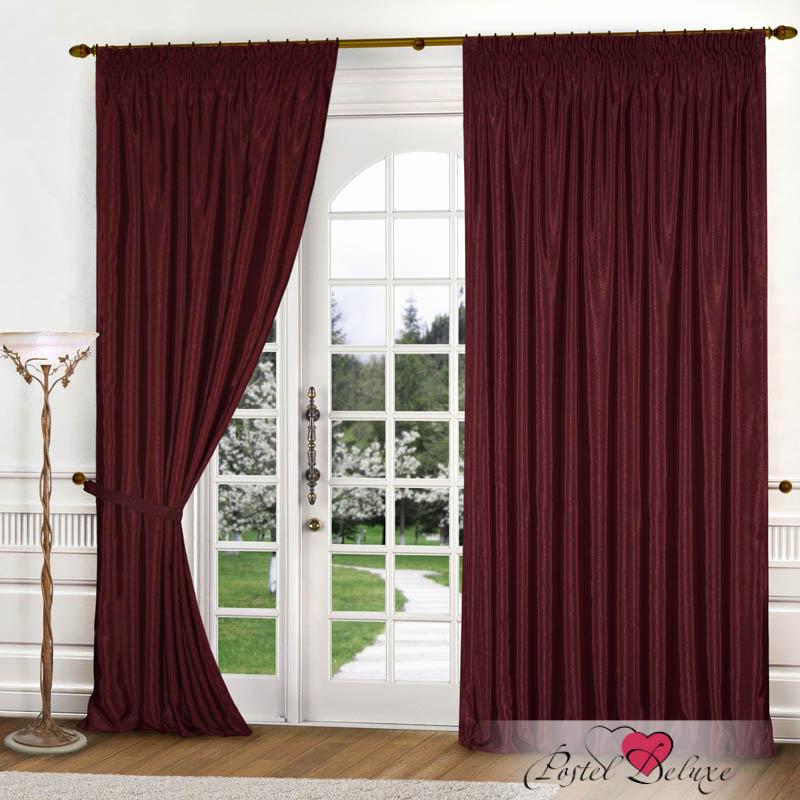 Шторы РеалТекс Классические шторы Brisa Цвет: Бордовый реалтекс реалтекс классические шторы akina цвет бежевый бордовый