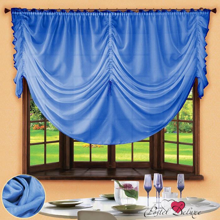 Шторы РеалТекс Французские шторы Corzano Цвет: Голубой реалтекс реалтекс классические шторы akina цвет бежевый бордовый