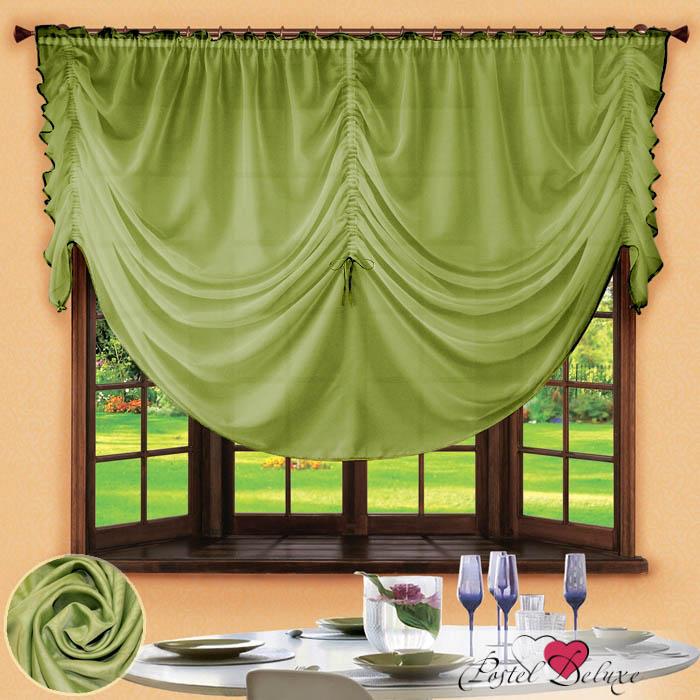 Шторы РеалТекс Французские шторы Corzano Цвет: Зеленый реалтекс реалтекс классические шторы akina цвет бежевый бордовый