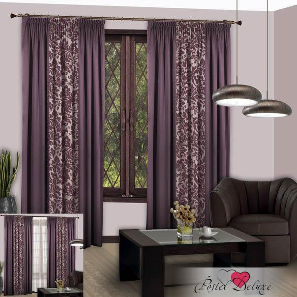 Шторы РеалТекс Классические шторы Nice Цвет: Светло-Фиолетовый