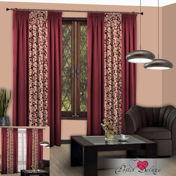 Шторы РеалТекс Классические шторы Nice Цвет: Бордо