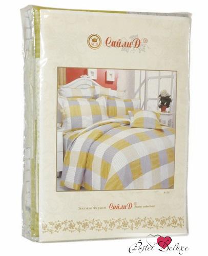Постельное белье СайлиД Постельное белье Carezza А/s-152 (2 сп. евро)