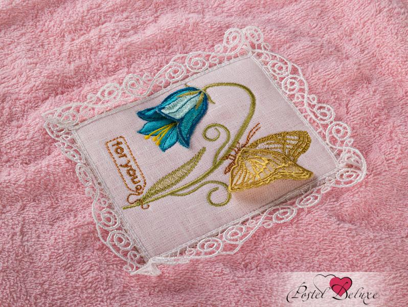 где купить  Полотенца Santalino Полотенце Полевые Цветы 3D Цвет: Шампань (50х90 см)  по лучшей цене