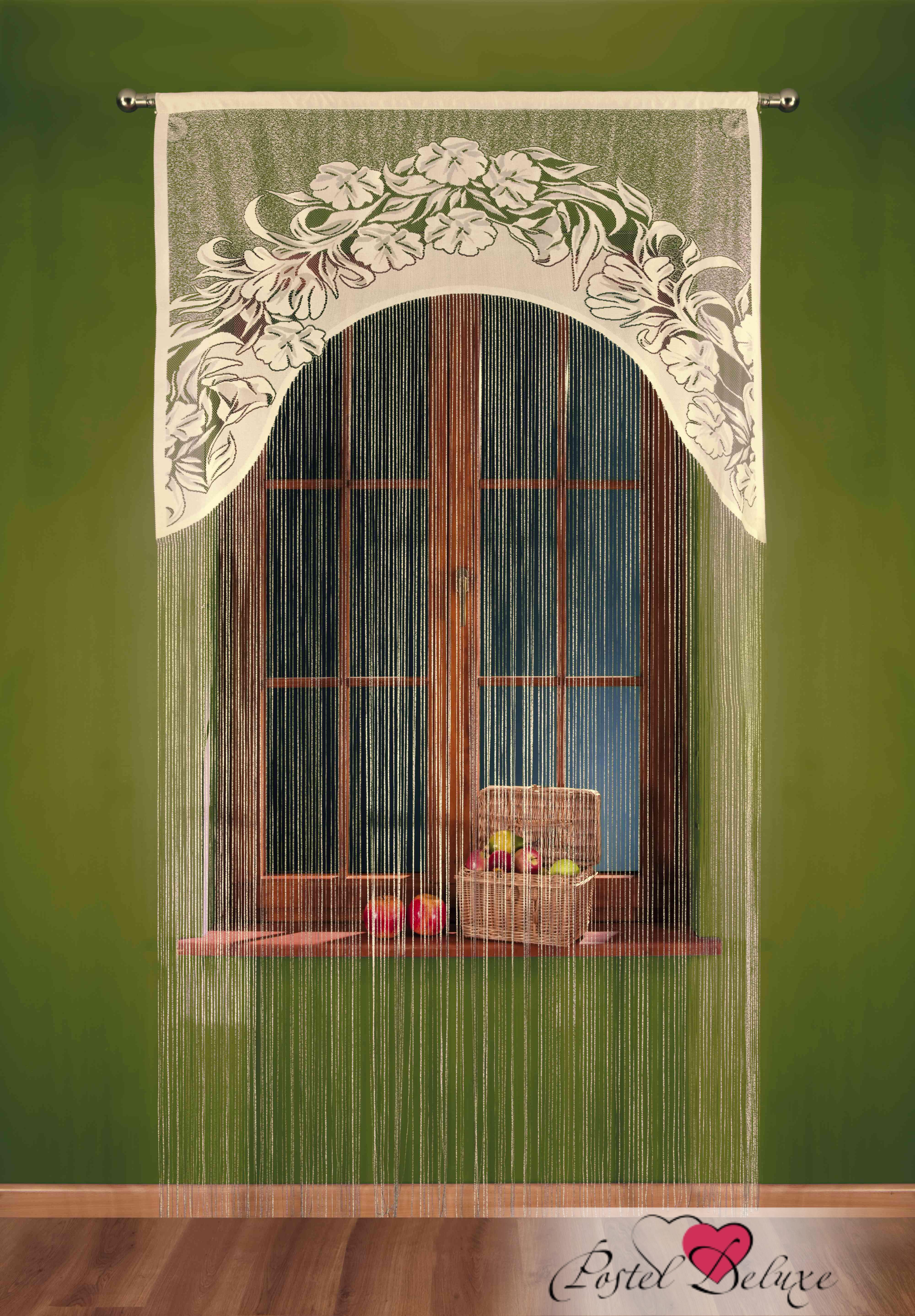 Шторы Wisan Нитяные шторыIvettaЦвет: Кремовый wisan wisan нитяные шторы joelle цвет кремовый бежевый