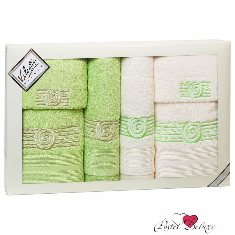 Полотенца Valentini Полотенце Sea1 Цвет: Светло-Зеленый/Белый(Набор) полотенца eleganta полотенце anetta цвет темная фуксия набор