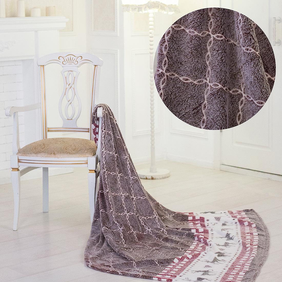 Плед Eleganta Плед Олени (150х200) плед eleganta плед помпон цвет фиолетовый 210х220 см