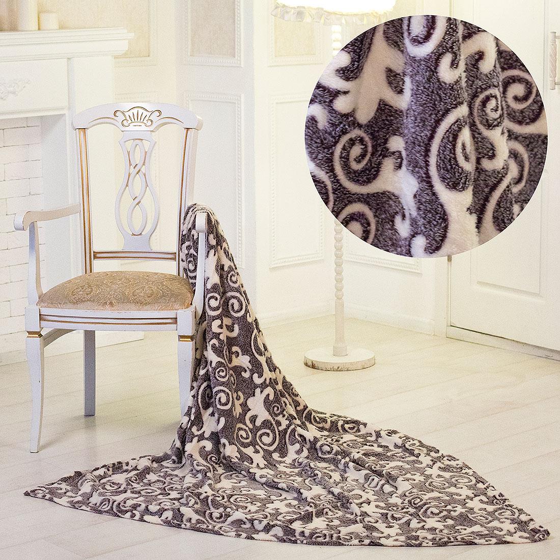 Плед Eleganta Плед Орнамент (150х200) плед eleganta плед помпон цвет фиолетовый 210х220 см