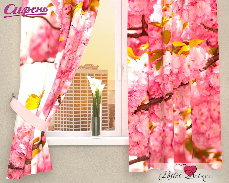 Шторы Сирень Фотошторы Вишневые Соцветия