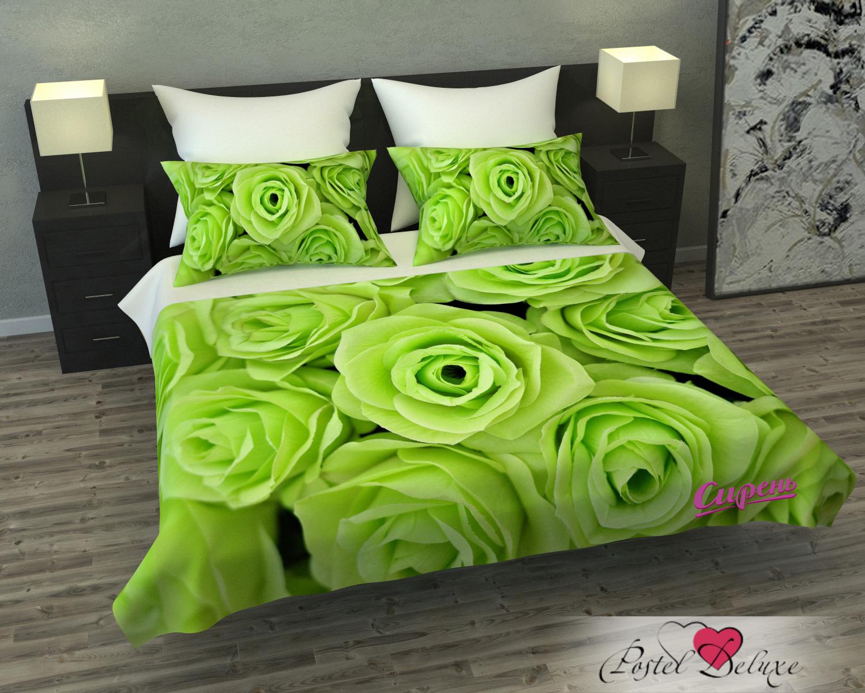 Покрывало Сирень Покрывало Зеленые Розы (145х220 см) сирень сирень покрывало яркий залив 145х220 см