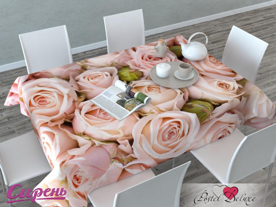 Скатерти и салфетки Сирень Скатерть Молодые Розы (120х145 см)