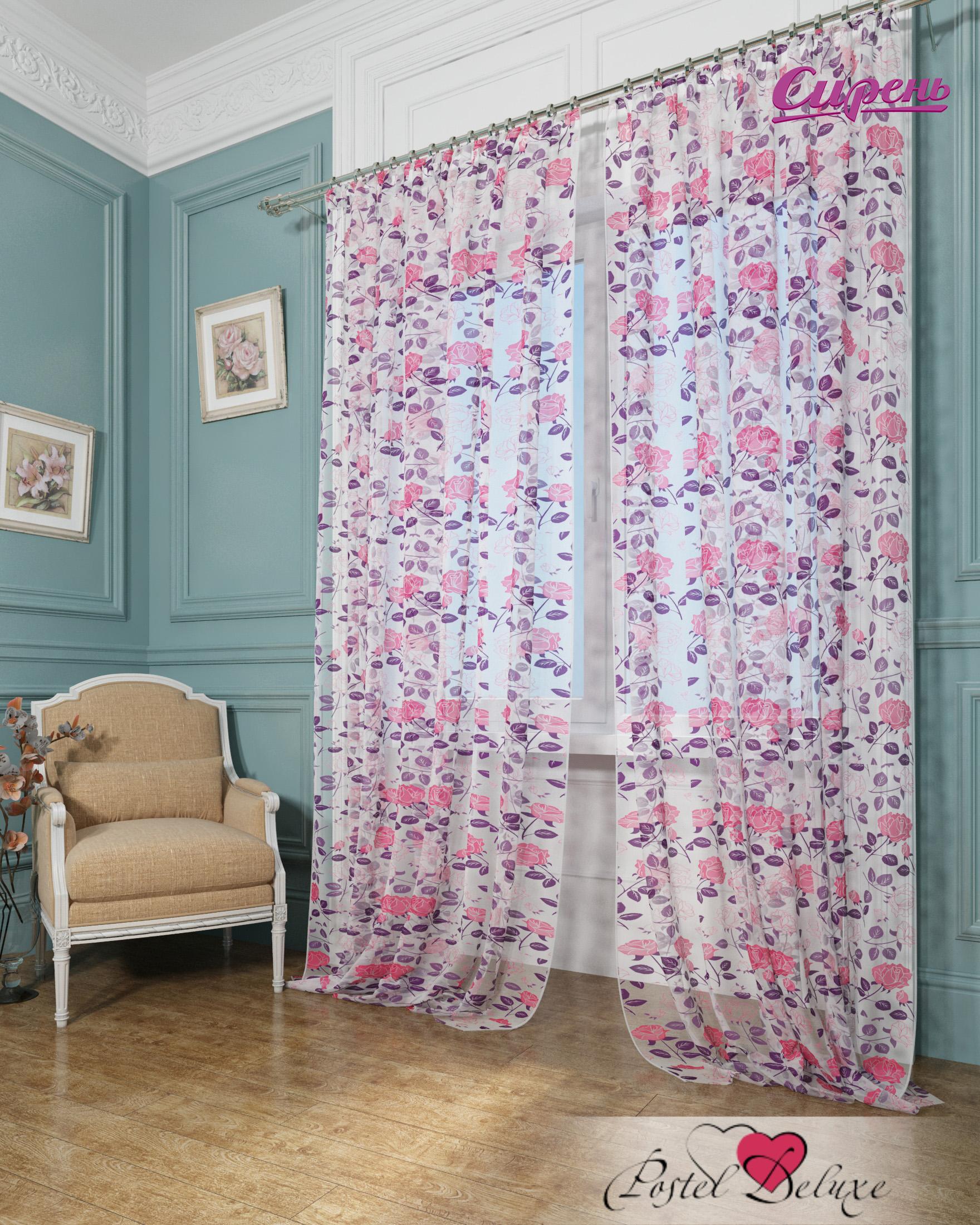 Сирень Классические шторы Кусты Роз