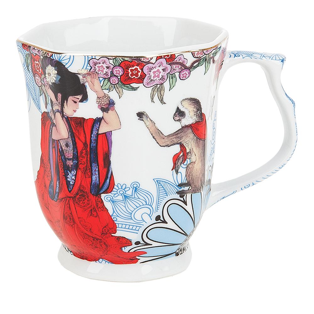 {} Polystar Кружка Японские Мотивы (350 мл) кружка кофе 350 мл nuova r2s s p a кружка кофе 350 мл