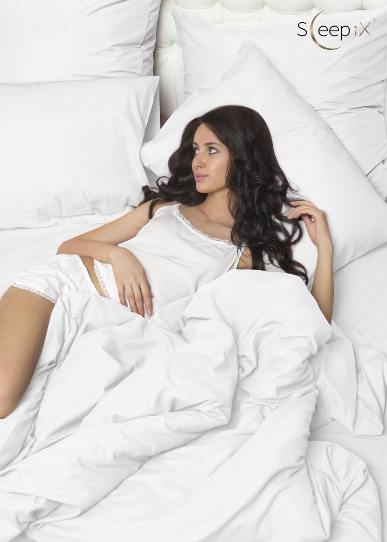 Sleep iX Постельное бельеPerfectionЦвет: Белый (1,5 спал.) valtery постельное белье mandy 1 5 спал