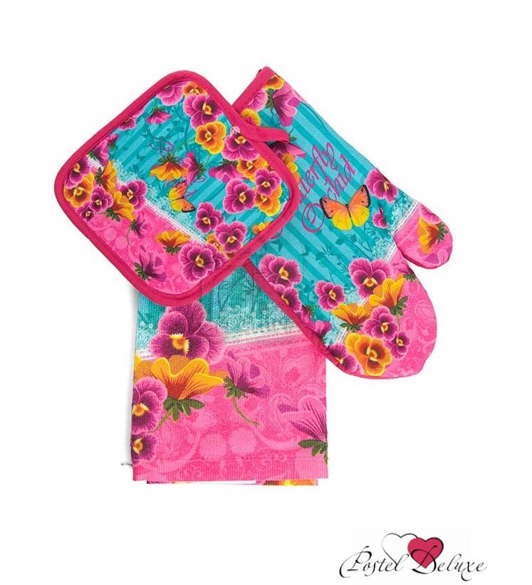 Кухонный набор SoavitaКухонные наборы<br>Производитель: Soavita<br>Cтрана производства: Китай<br>Материал полотенца: Махра (100% Хлопок)<br>Материал варежки и прихватки: Сатин (100% Хлопок)<br>В набор входят:<br>- Варежка: 17х27 см (1 шт)<br>- Полотенце: 38х63 см (1 шт)<br>- Прихватка: 17х17 см (1 шт)<br>Плотность: 200 г/м2<br><br>Тип: кухонный набор<br>Размерность комплекта: None<br>Материал: Махра,Сатин (хлопок)<br>Размер наволочки: None<br>Подарочная упаковка: None<br>Для детей: нет<br>Ткань: Махра,Сатин (хлопок)<br>Цвет: Сиреневый