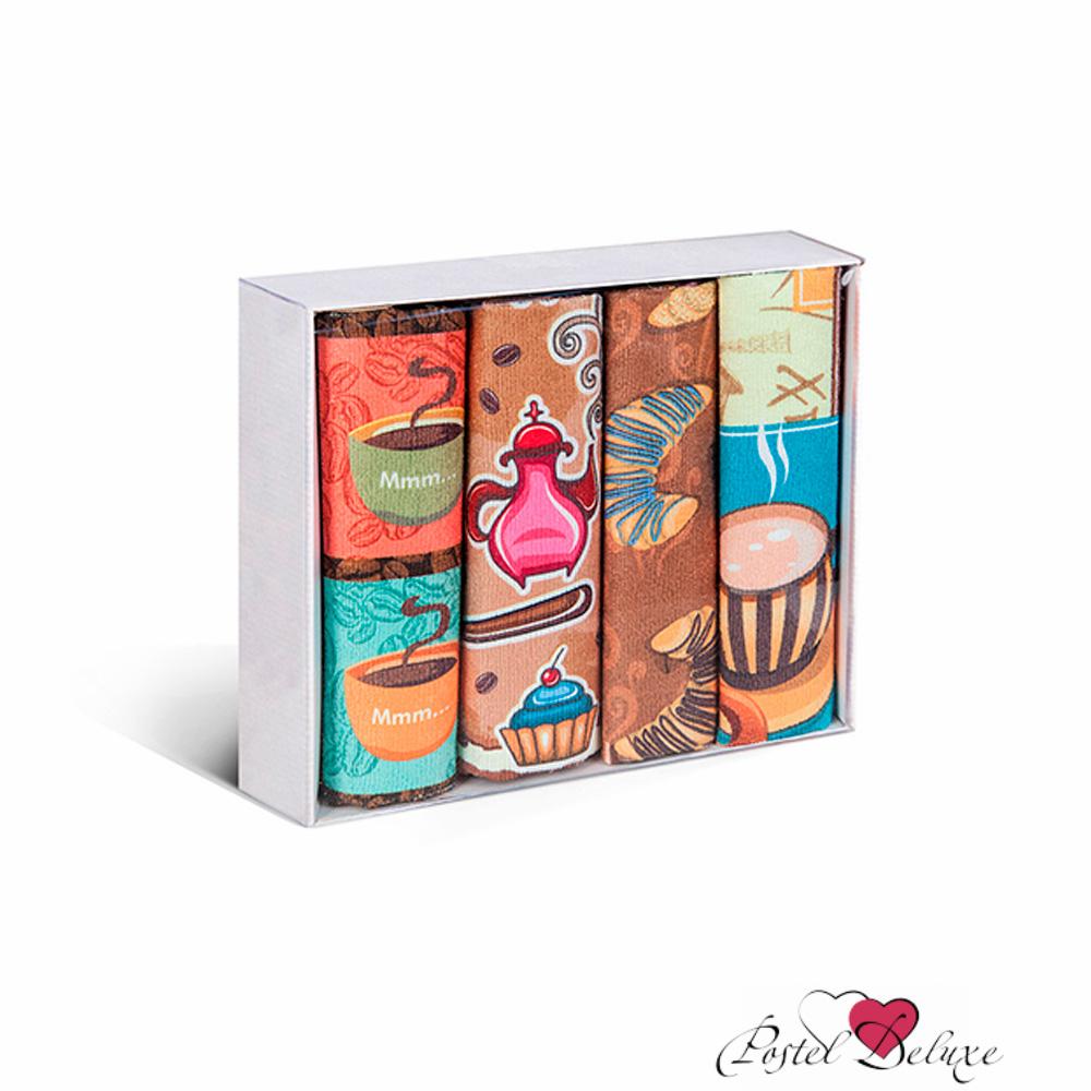 {} Soavita Кухонное полотенце Coffee (38х64 см - 3 шт) полотенце кухонное soavita цвет коралловый диаметр 65 см 48800