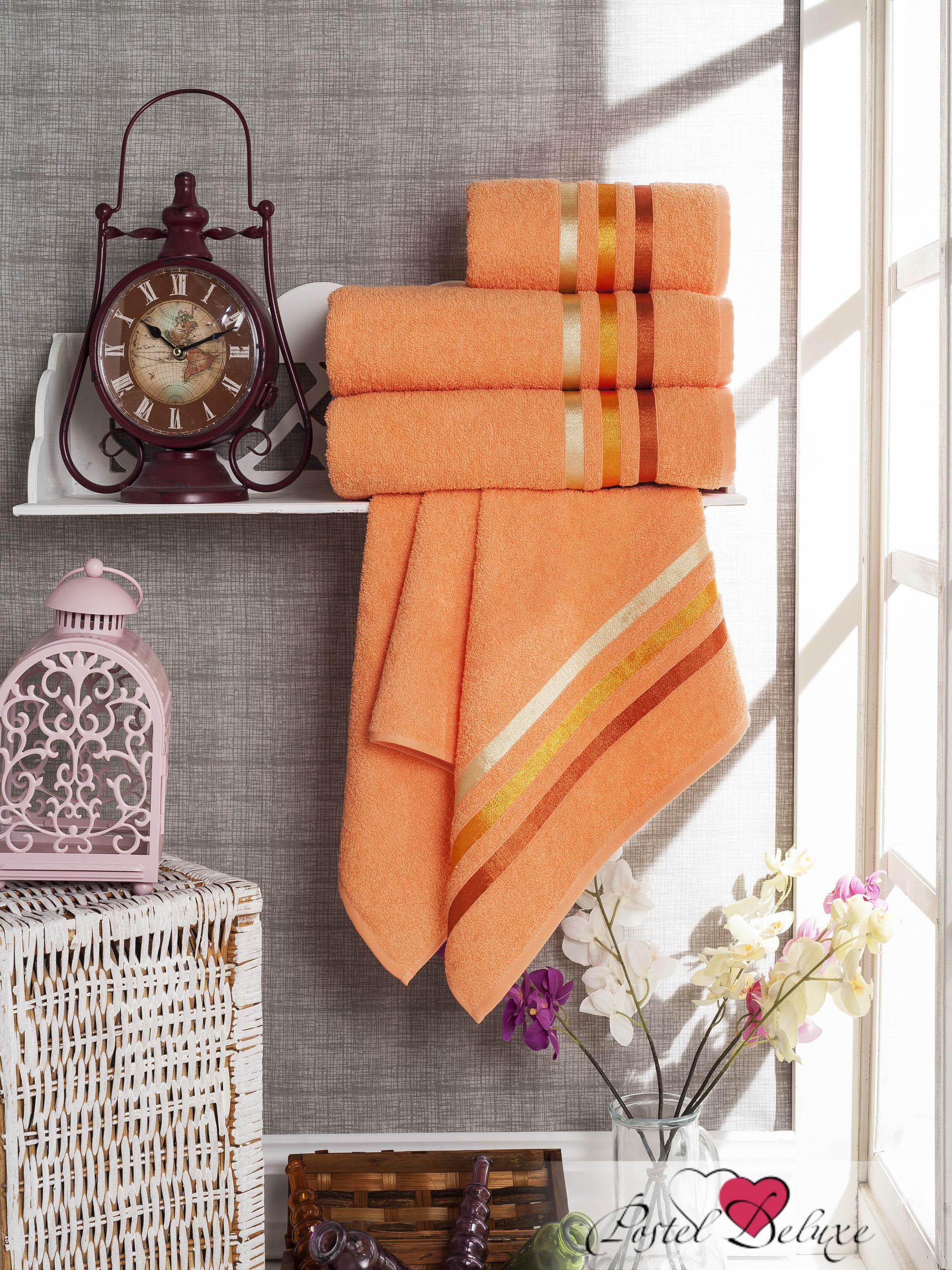 Полотенца Sokuculer Набор Полотенец Vevien Цвет: Персиковый набор из 3 полотенец merzuka sakura 50х90 2 70х140 8432 оранжевый