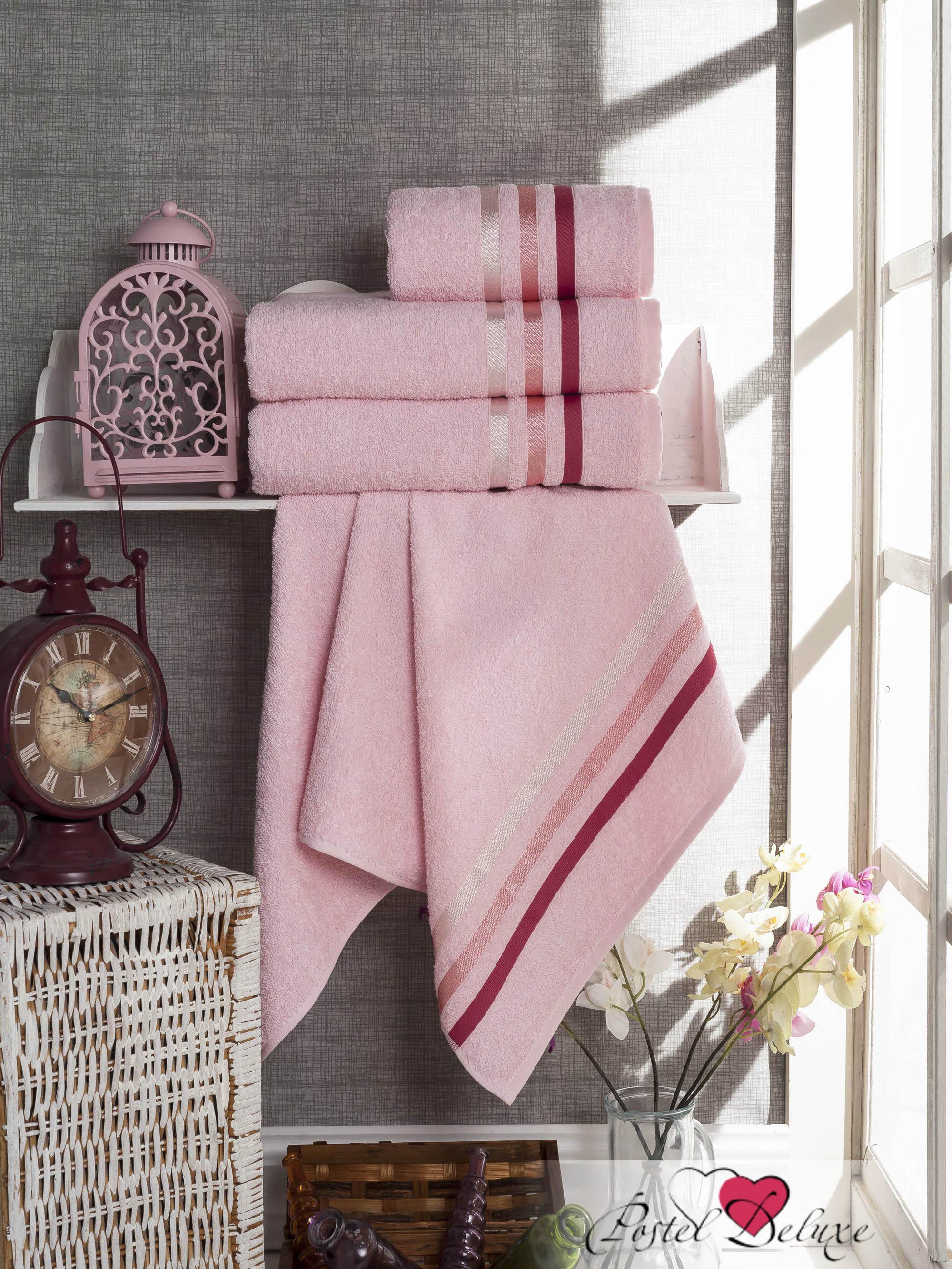 Полотенца Sokuculer Набор Полотенец Vevien Цвет: Розовый набор из 3 полотенец merzuka sakura 50х90 2 70х140 8432 оранжевый