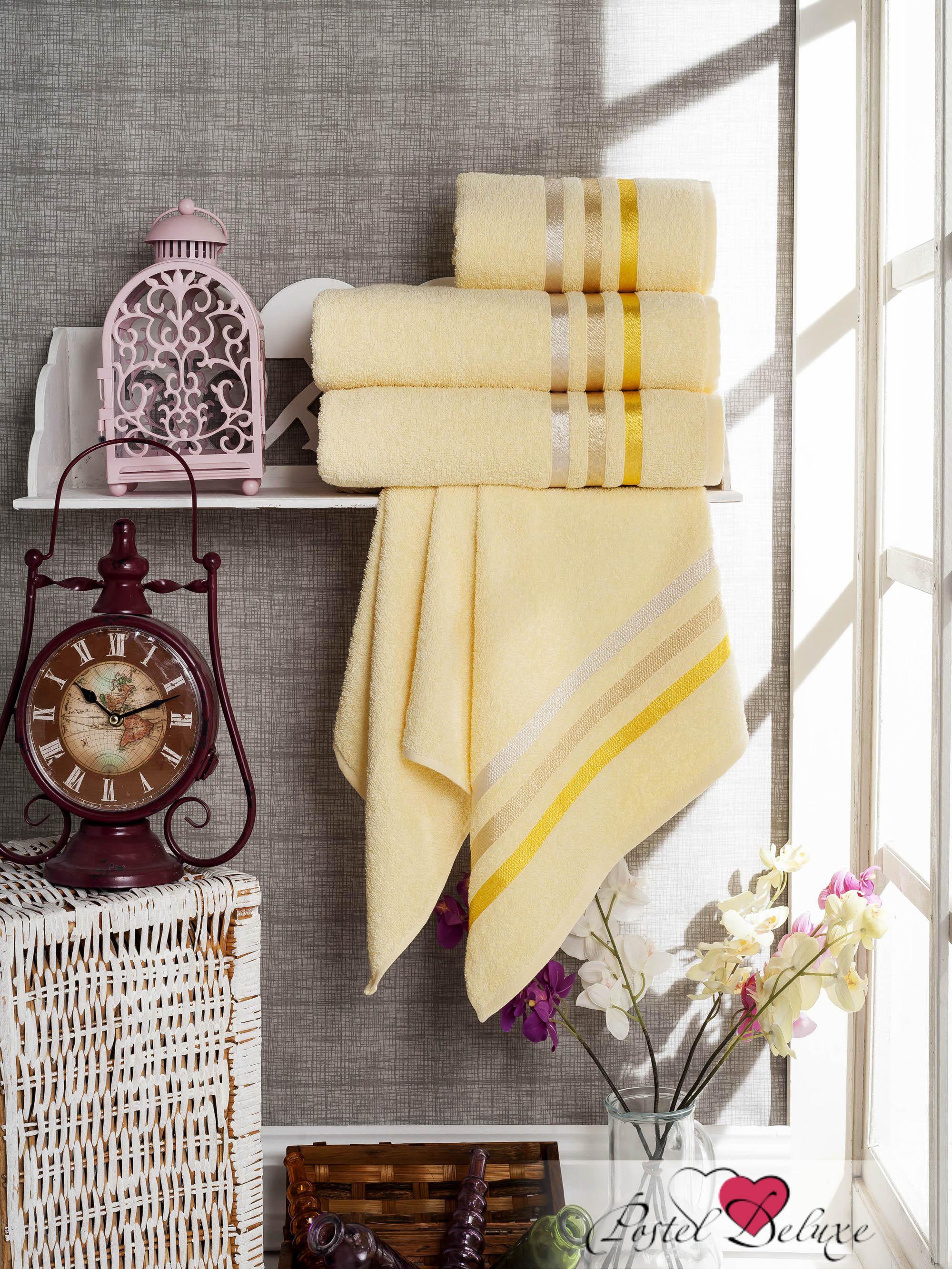 Полотенца Sokuculer Набор Полотенец Vevien Цвет: Жёлтый набор из 3 полотенец merzuka sakura 50х90 2 70х140 8432 оранжевый