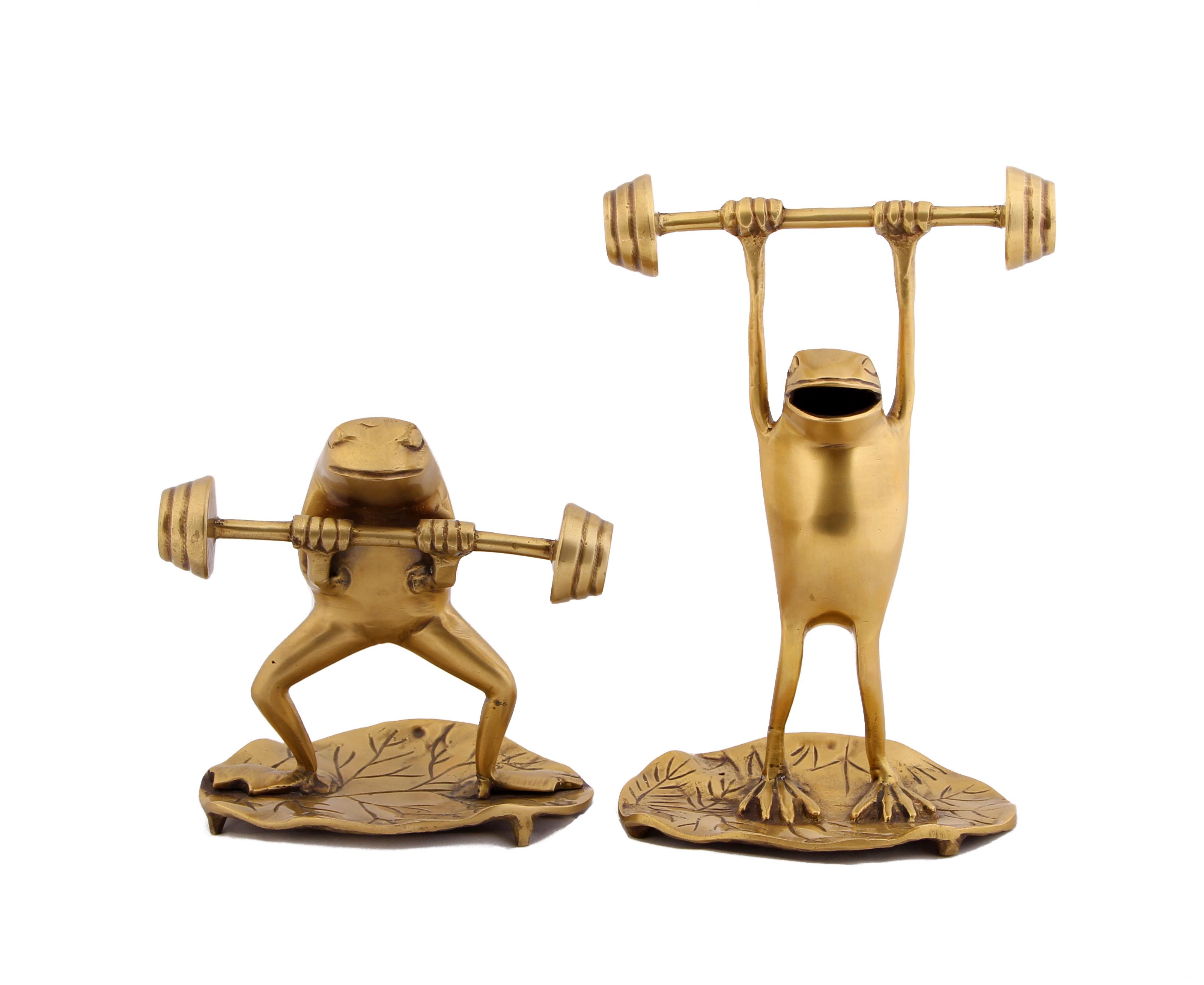 {} Ганг Статуэтка Лягушки Атлеты (Набор) статуэтка moda argenti статуэтка bn400g