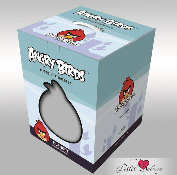 Детские покрывала, подушки, одеяла Tango Детский плед Angry Birds (160х220 см) angry birds 92 см