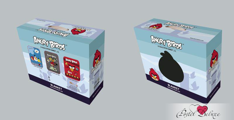 Детские покрывала, подушки, одеяла Tango Детский плед Angry Birds (150х200 см)