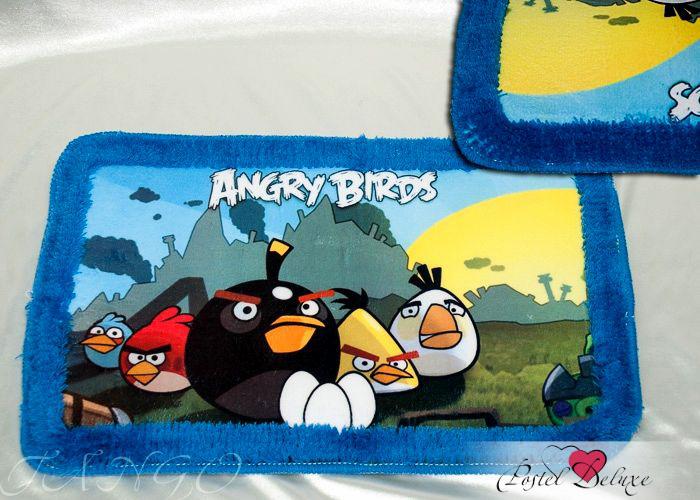 Аксессуары для ванной и туалета Tango Коврик для ванной Angry Birds (40х60 см) angry birds 92 см