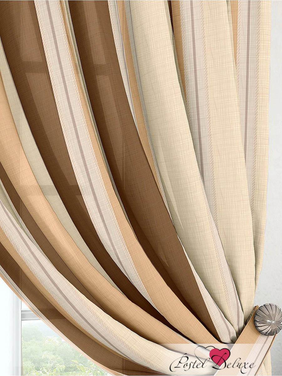 Шторы ТомДом Классические шторы Ален Цвет: Бежевый