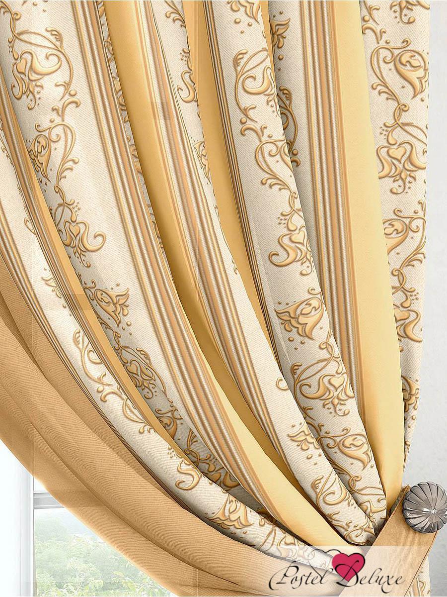 Шторы ТомДом Классические шторы Лекс Цвет: Бежевый томдом томдом классические шторы абель цвет малиновый