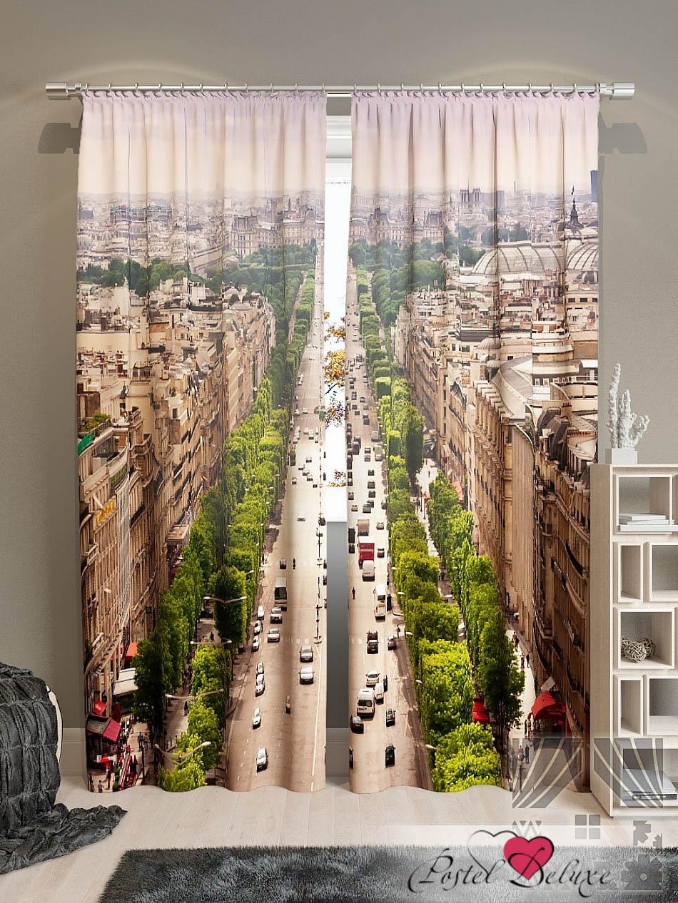 Шторы ТомДом Фотошторы Над Парижем