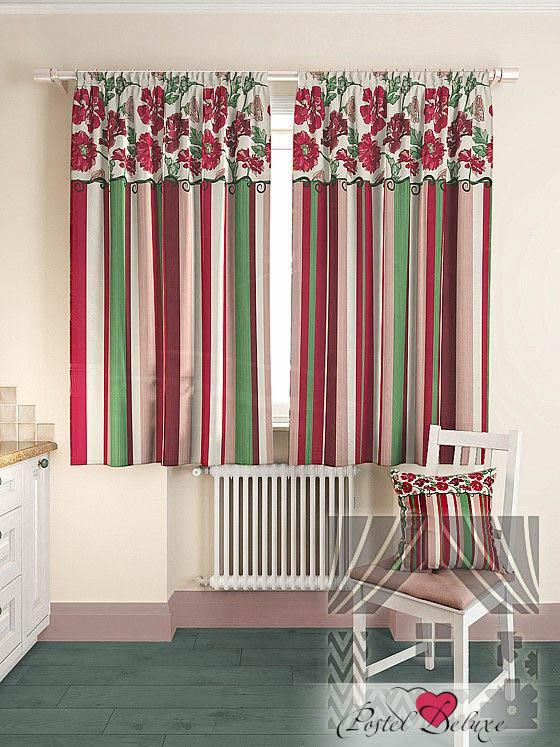 Шторы ТомДом Классические шторы Абель Цвет: Малиновый томдом томдом классические шторы абель цвет малиновый