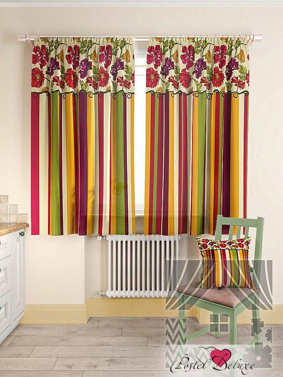 Шторы ТомДом Классические шторы Абель Цвет: Красный томдом томдом классические шторы абель цвет малиновый