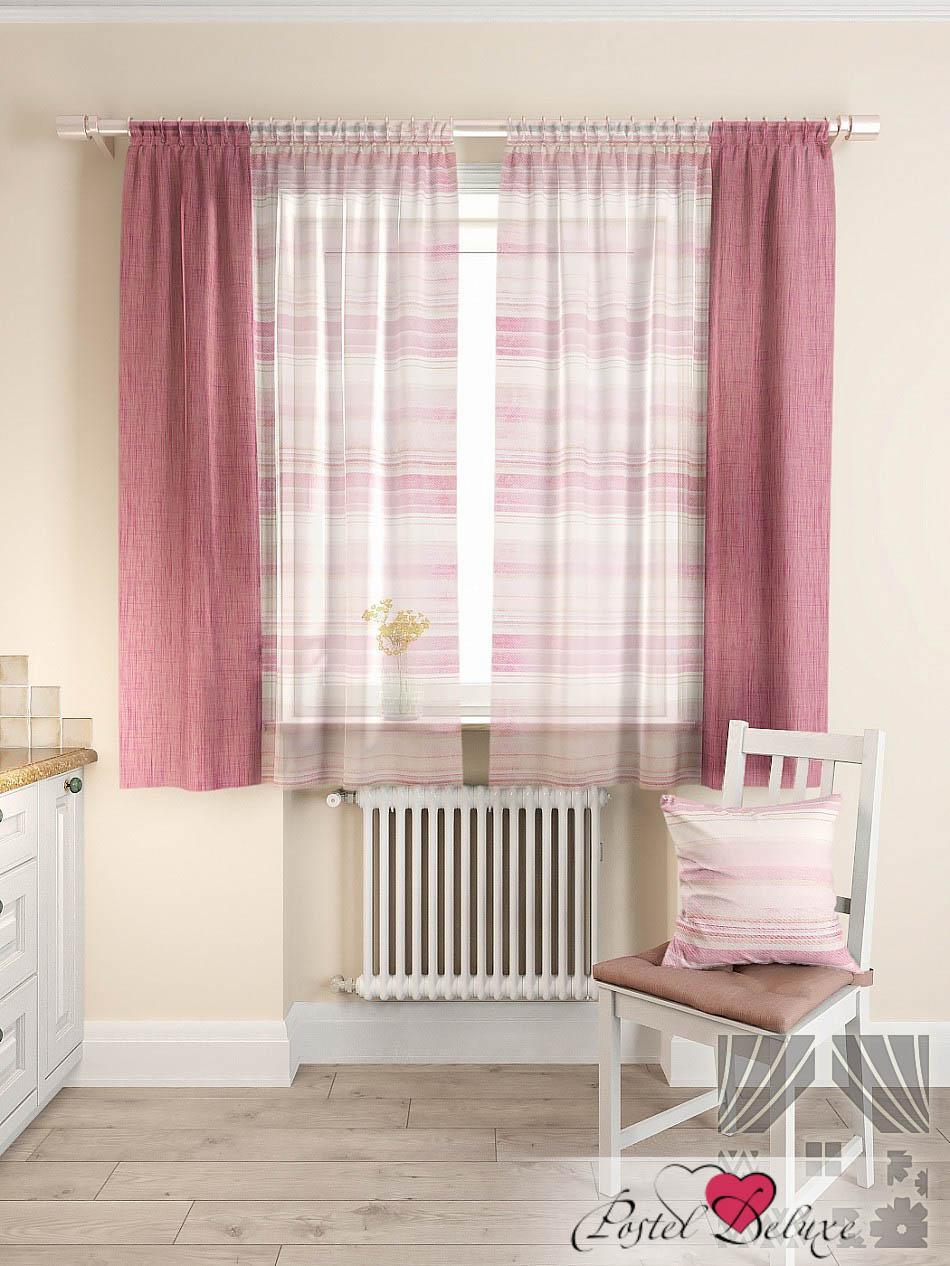 Шторы ТомДом Классические шторы Джорас Цвет: Малиновый томдом томдом классические шторы абель цвет малиновый