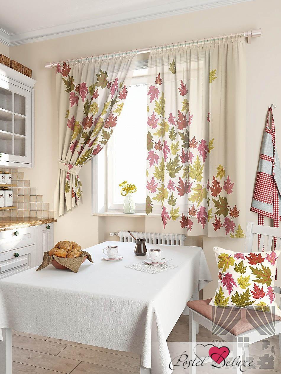 кухонное окно оформление фото двухцветные шторы