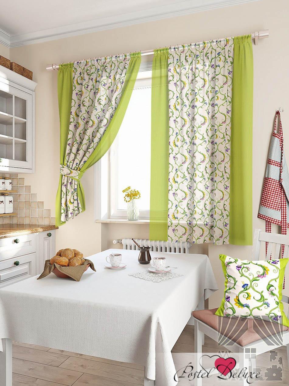 Фотография ТомДом Классические шторы Кулидж Цвет: Зеленый