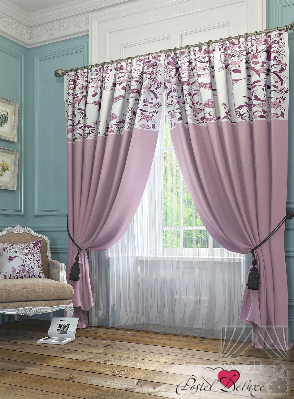 Шторы ТомДом Классические шторы Агно Цвет: Розовый томдом томдом классические шторы луала