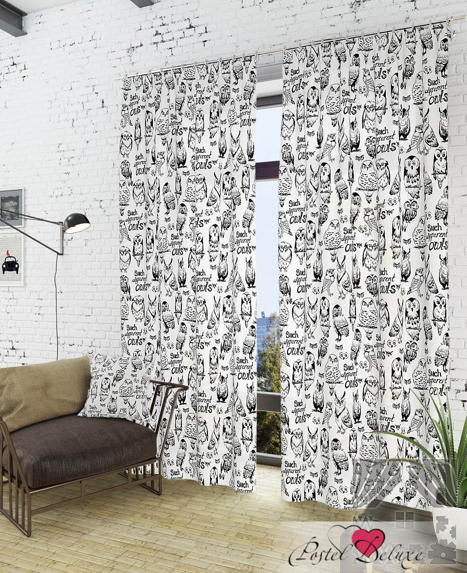 Шторы ТомДом Классические шторы Инис-К Цвет: Белый