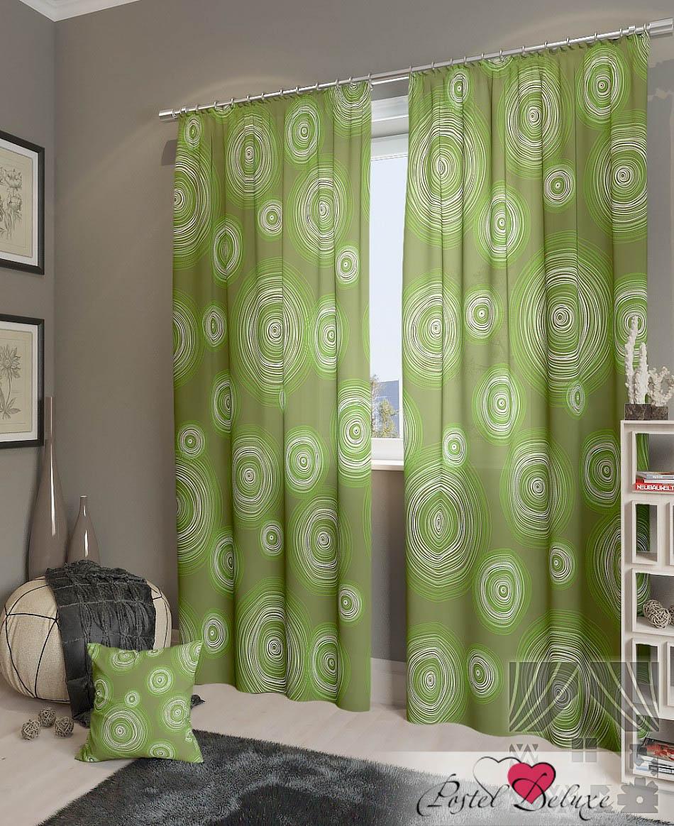 Шторы ТомДом Классические шторы Ван Гог-К Цвет: Зеленый томдом томдом классические шторы луала