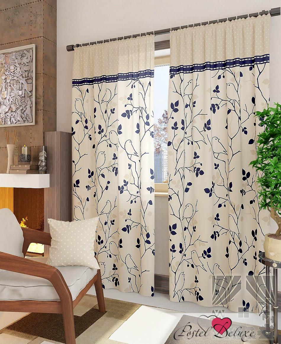 Шторы ТомДом Классические шторы Кильди-К Цвет: Бежевый шторы томдом классические шторы мелета к цвет бежевый
