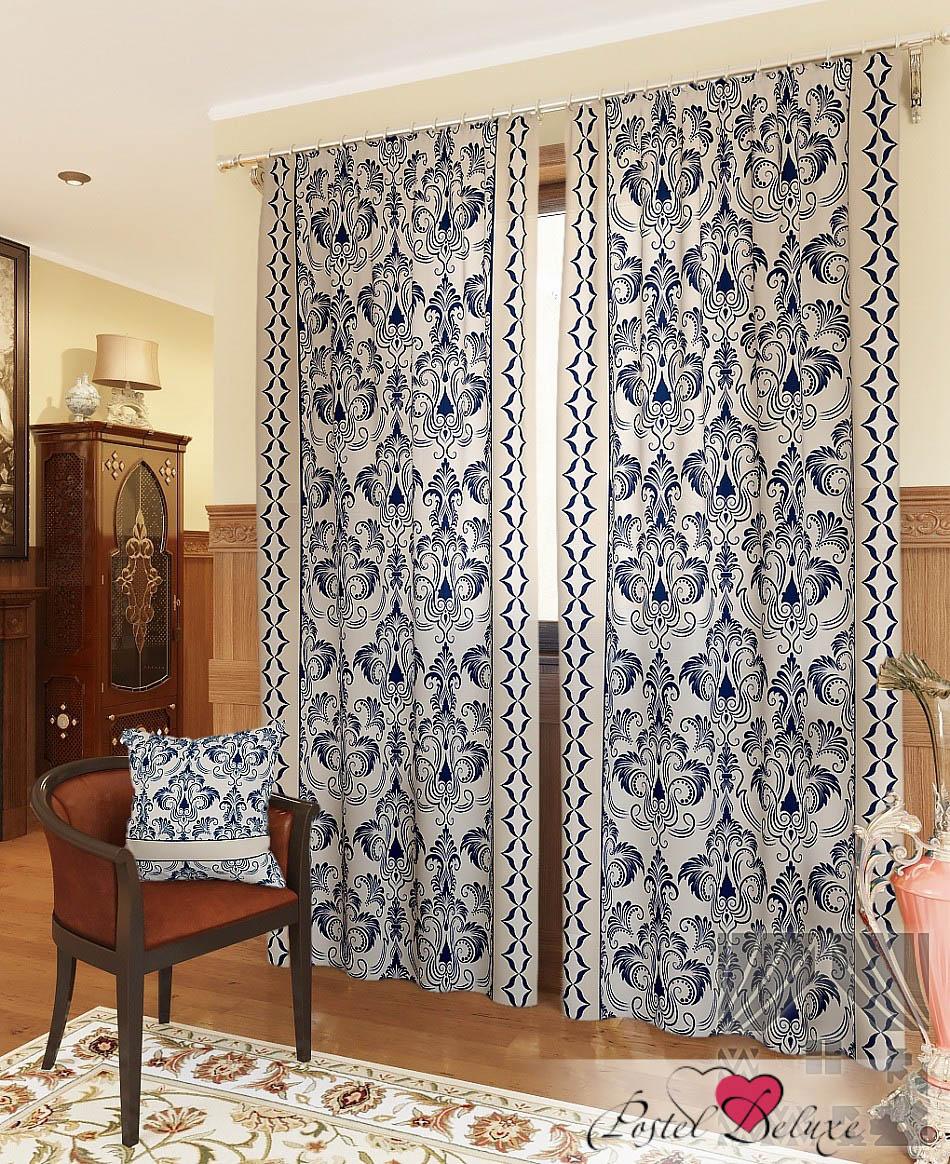 Шторы ТомДом Классические шторы Айлен-К Цвет: Синий томдом томдом классические шторы луала