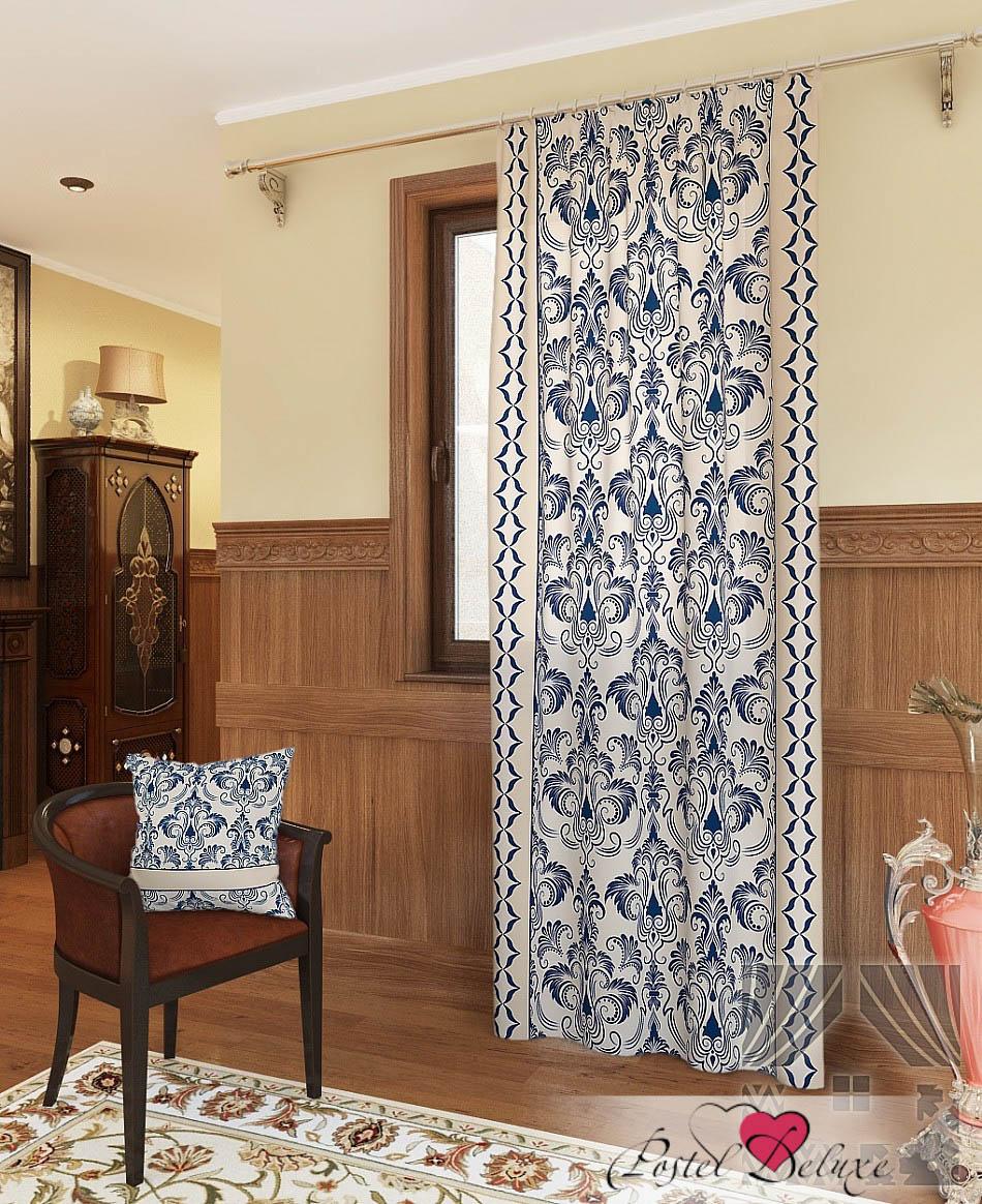 Шторы ТомДом Классические шторы Айлен-П Цвет: Цвет: Синий