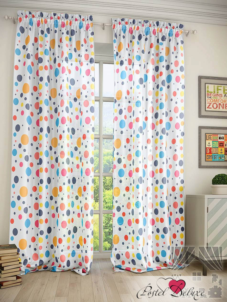 Шторы ТомДом Классические шторы Гор Цвет: Цвет: Синий томдом томдом классические шторы абель цвет малиновый