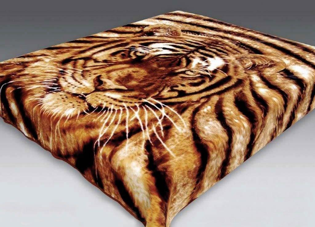 где купить  Плед Tamerlan Плед Тигр (200х240 см)  по лучшей цене