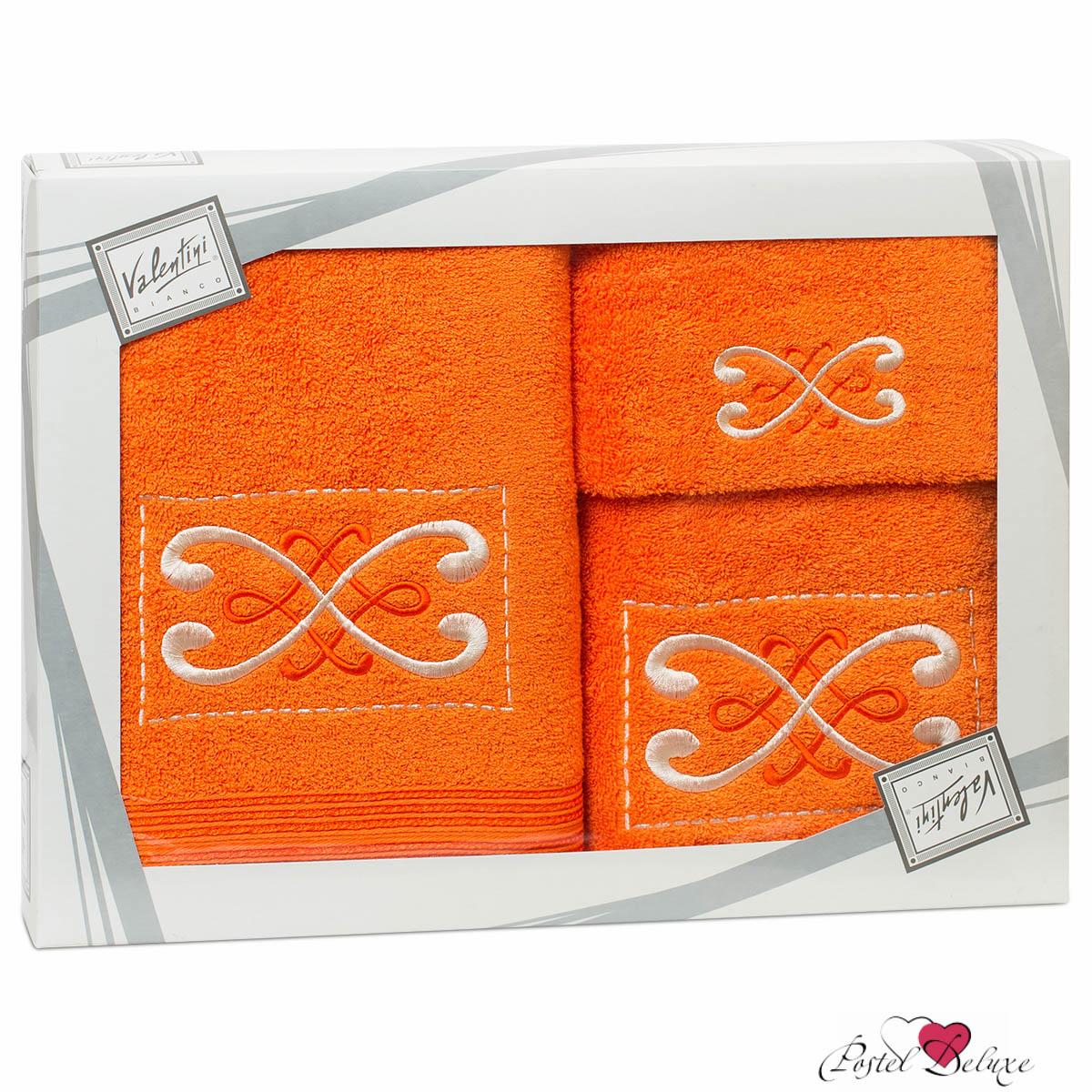 Полотенца Valentini Полотенце Fantasy Цвет: Оранжевый (Набор) набор из 3 полотенец merzuka sakura 50х90 2 70х140 8432 оранжевый