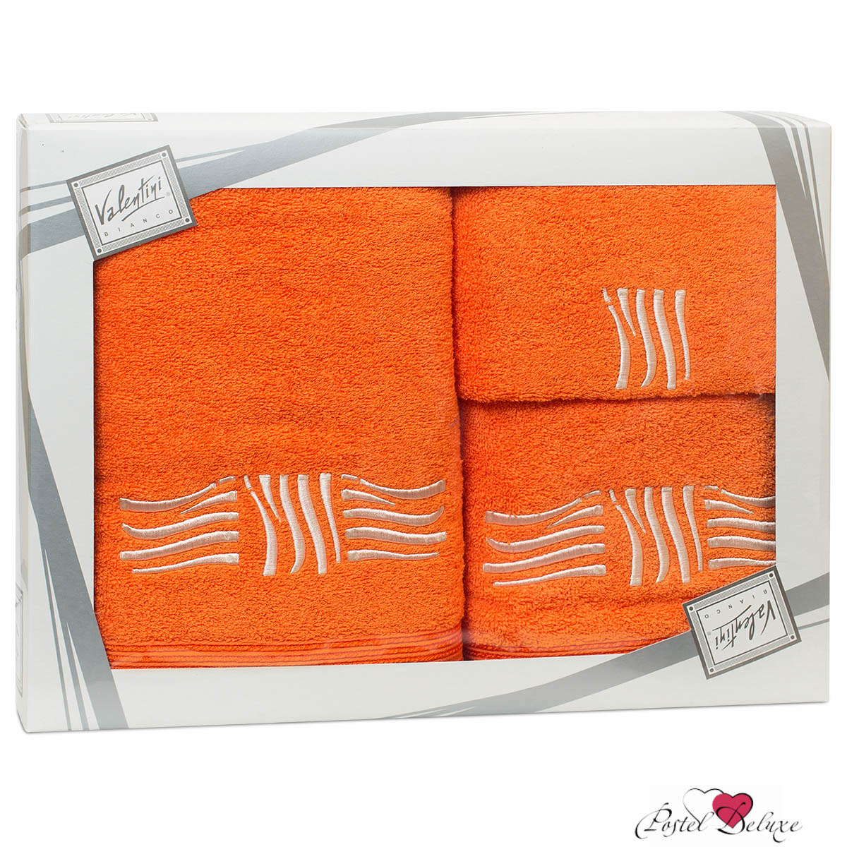 Полотенца Valentini Полотенце Sea Цвет: Оранжевый (Набор) набор из 3 полотенец merzuka sakura 50х90 2 70х140 8432 оранжевый