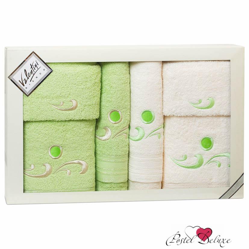 Полотенца Valentini Полотенце Fantasy Цвет: Салатовый, Кремовый (Набор) полотенца eleganta полотенце anetta цвет темная фуксия набор