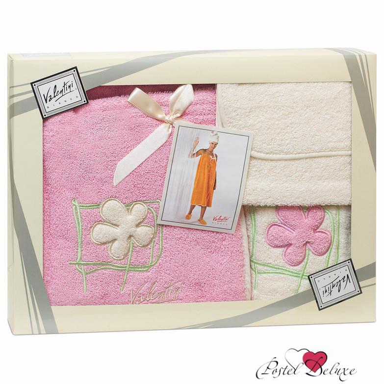 Сауны, бани и оборудование Valentini Набор для сауны Flower Цвет: Розовый lovetoy tail rabbit small золотая с фиолетовым хвостиком